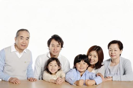 Three generations family 6