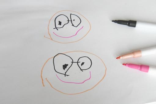 Children's drawing work