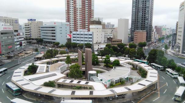 하마 마쓰 역 빌딩에서 역 북쪽 출구 희망