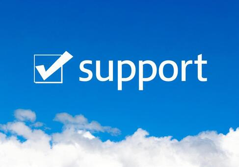 Support check mark