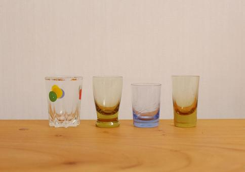 Old shot glass