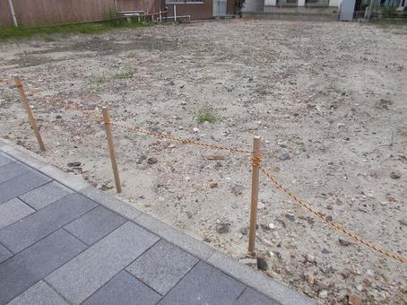 A large vacant lot waiting for the time of utilization