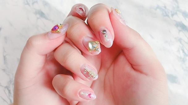 Yumekawa warrior style nail art
