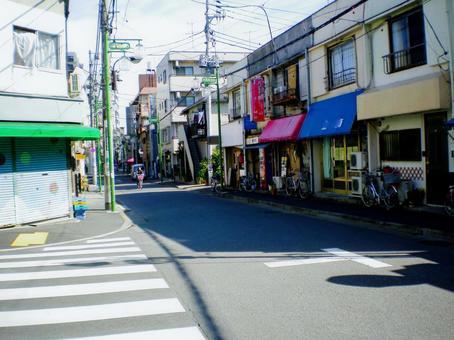 Shopping street in Itabashi-ku, Tokyo