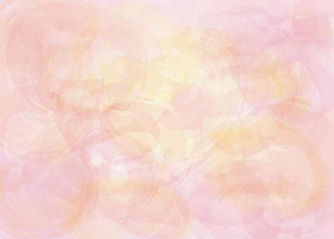 Pink color watercolor handwriting background material wallpaper decorative frame picture