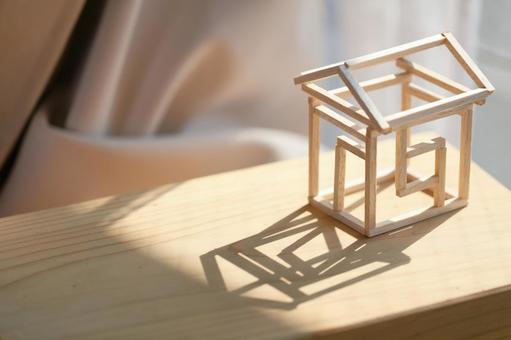 집의 모형 주택 구조 이미지