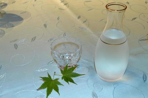 Japanese sake _ sideways