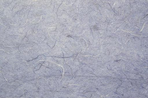 Bluish Japanese paper (background material)