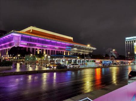 밤 타이베이 역