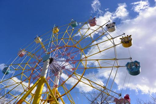 Ferris wheel of an animal
