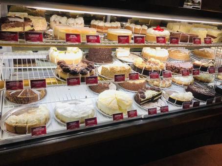 Foreign cake shop