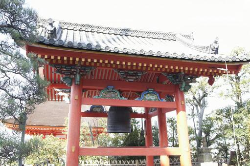 Kiyomizu Temple Bell Tower 3