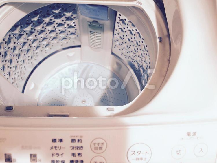 洗濯槽の写真