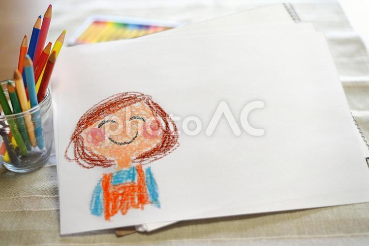 ママの似顔絵(母へ母よりメッセージ)の写真