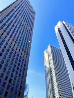 신주쿠의 고층 빌딩