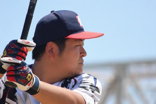 Male batter batter baseball sports