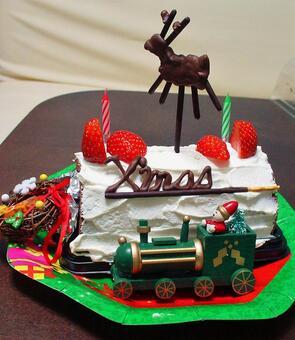 Handmade Christmas cake 2