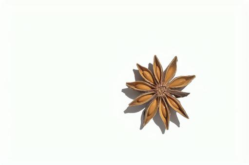Star anise close-up