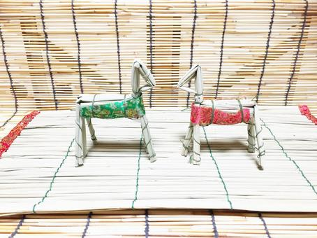 Spirit horse Obon 1