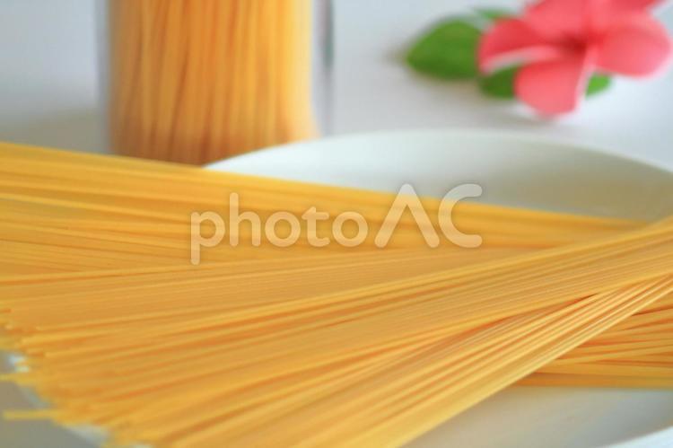 パスタ 乾麺の写真