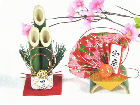 New Year's Card Material Kadoma / Figurine Decoration New Year's New Year