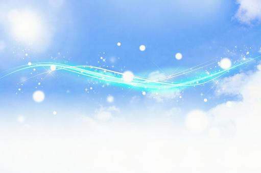 Gentle light across the sky