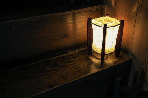 골동품 등불