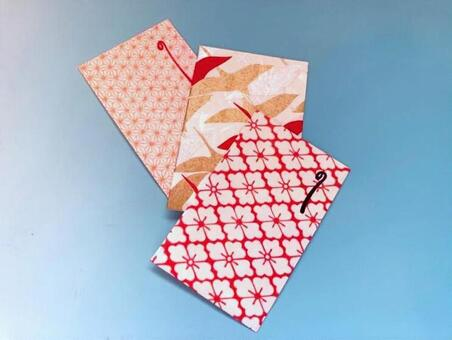 고풍 종이 포치 봉투 세뱃돈