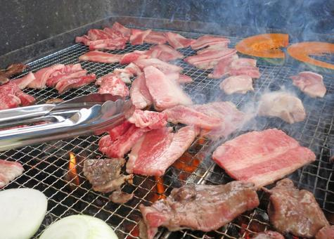 BBQ · Bake meat