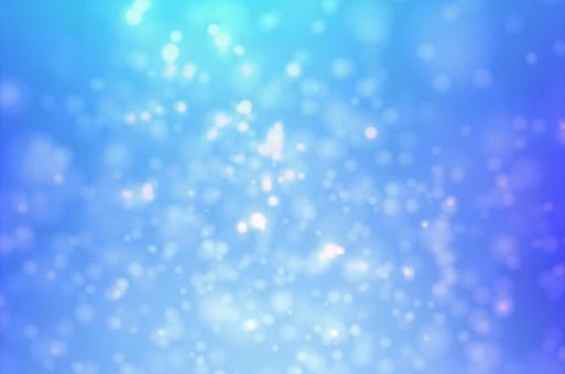 Blue ball bokeh circular abstract abstract image background