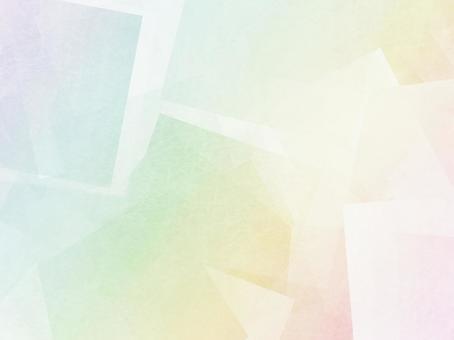 Japanese paper tile pattern rainbow color