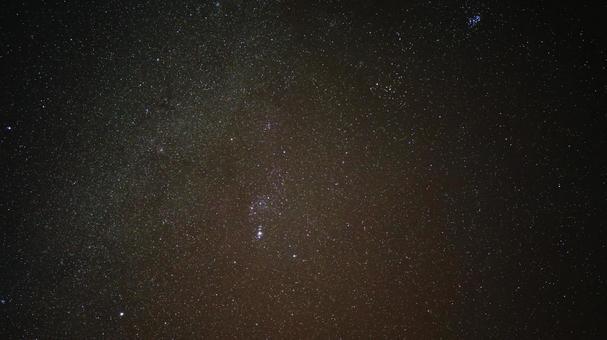 北阿爾卑斯山的星空