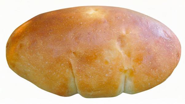 Cut-out material cream bread