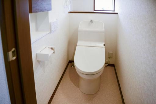 New article unused toilet