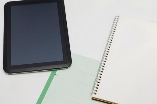 Some tablets of stationery