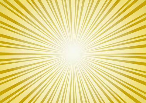 Radiation golden effect line concentrated line frame frame decorative frame picture