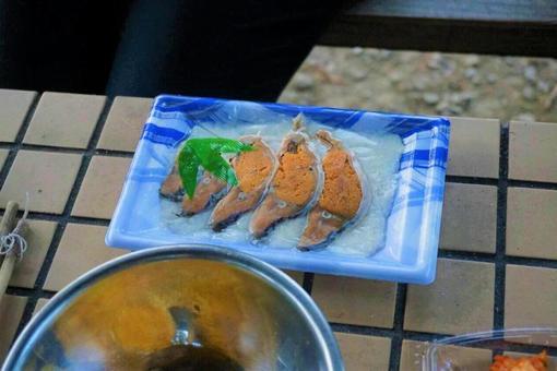 붕어 초밥
