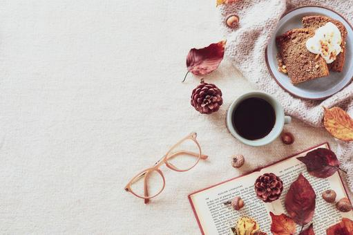 Autumn and tea time for reading