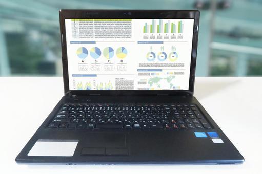 Desktop computer and graph