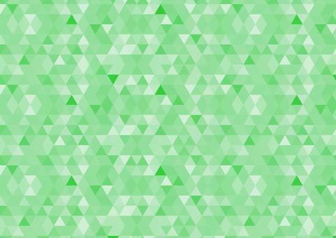 Geometric pattern green