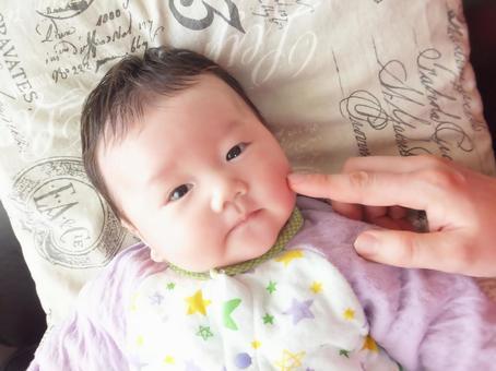 Smiling baby 4