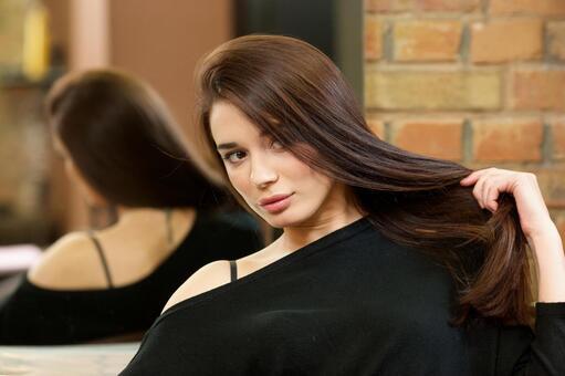 머리 예쁜 여자 2