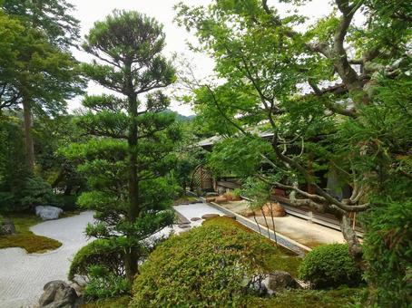 鎌倉淨二寺死山水日本花園