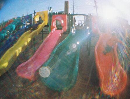 Colorful slide
