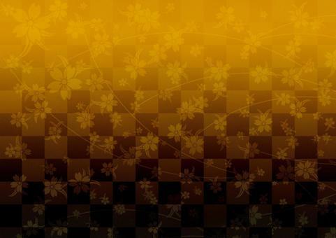 Japanese Pattern Background _ Sakura _ 2