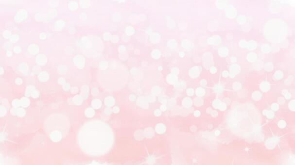 Watercolor glitter pink background