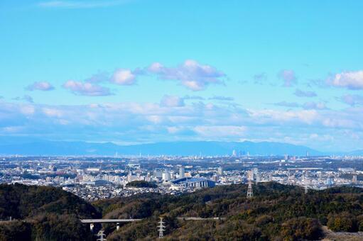 도시와 하늘