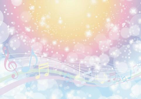 Music fantasy shine abstract background material texture