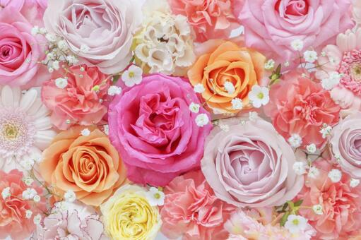 Flower full background