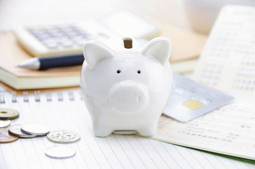 Household savings image Money